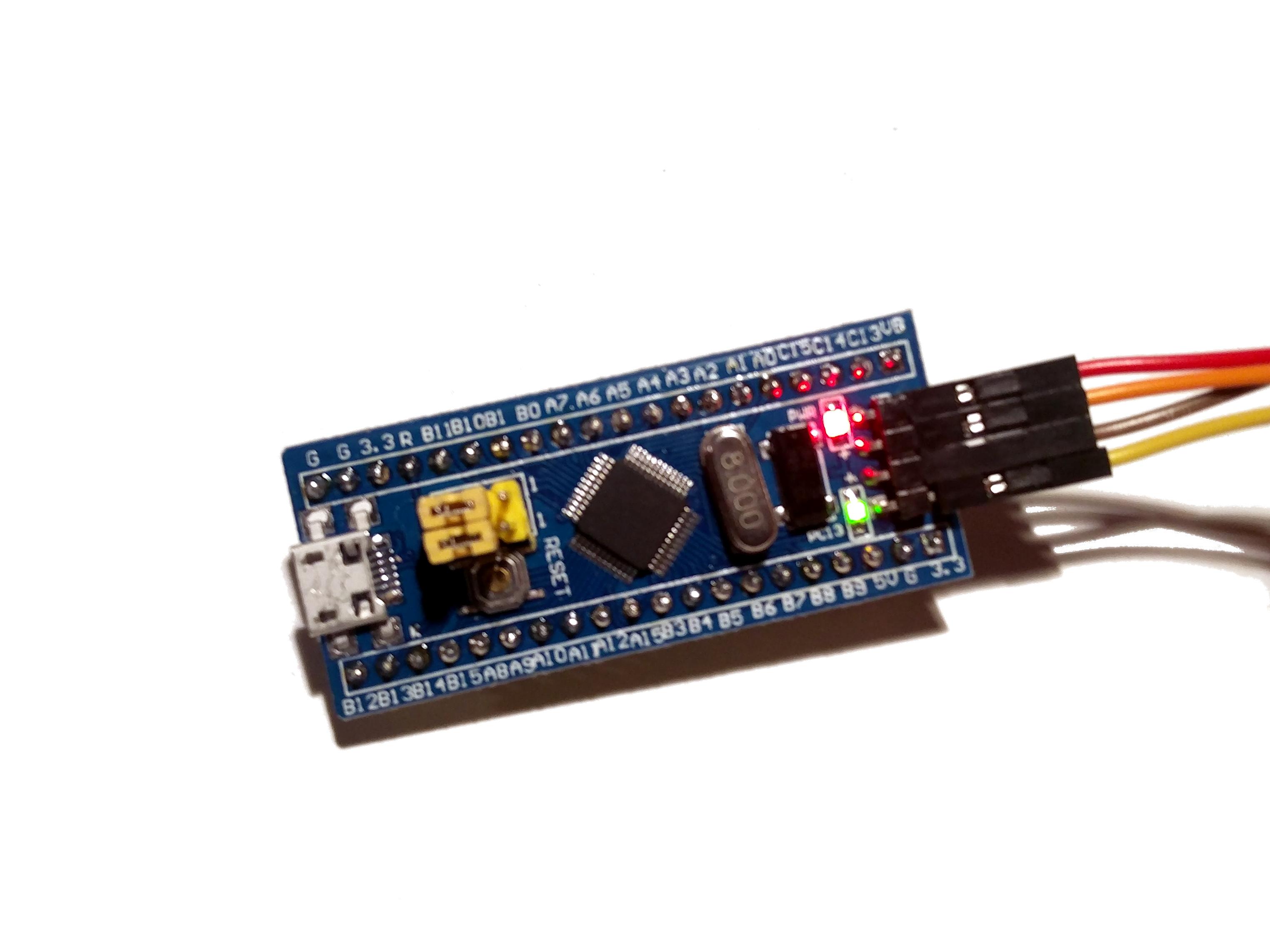 Rust on STM32: Blinking an LED - Stackenbloggen